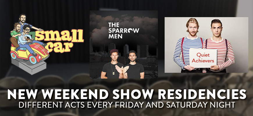Weekend shows carousel